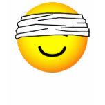 Blindfolded emoticon   womens_apparel_tshirt