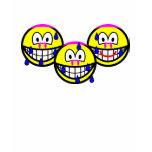 Synchronized swimming smile Olympic sport Aquatics womens_apparel_tshirt