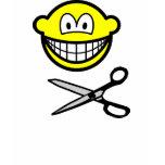 Cutting smile scissors  womens_apparel_tshirt