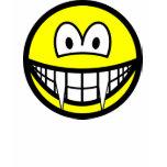 Vampire smile (before lunch)  womens_apparel_tshirt