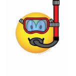 Snorkel emoticon   womens_apparel_tshirt