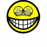 Smile eyed smile   womens_apparel_tshirt
