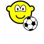 Footballing buddy icon soccer  womens_apparel_tshirt