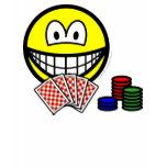 Poker smile   womens_apparel_tshirt