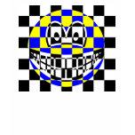Chess board smile   womens_apparel_tshirt