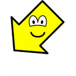 Down left buddy icon arrow  womens_apparel_tshirt