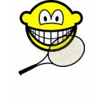 Tennis smile   womens_apparel_tshirt
