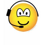 Headset emoticon   womens_apparel_tshirt