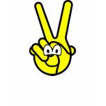 Peace sign buddy icon   womens_apparel_tshirt