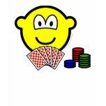 Poker buddy icon   womens_apparel_tshirt