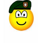 Green beret emoticon   womens_apparel_tshirt