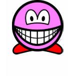 Kirby smile   womens_apparel_tshirt