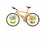 Mountain bike emoticon   womens_apparel_tshirt