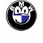 BMW emoticon   womens_apparel_tshirt