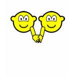 Holding hands buddy icons   womens_apparel_tshirt