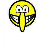 Big nosed smile   womens_apparel_tshirt