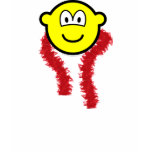 Feathered boa buddy icon   womens_apparel_tshirt