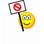 Demonstrator emoticon   womens_apparel_tshirt