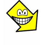Down right smile arrow  womens_apparel_tshirt