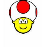 Toad buddy icon video game  womens_apparel_tshirt