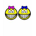 Twins smile   womens_apparel_tshirt