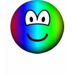 Rainbow emoticon Colours  womens_apparel_tshirt