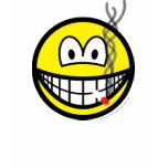 Smoking smile   womens_apparel_tshirt