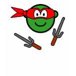 Red Ninja Turtle buddy icon   womens_apparel_tshirt