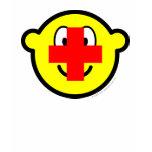 Red cross buddy icon   womens_apparel_tshirt