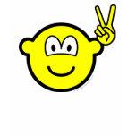 Peace hand buddy icon   womens_apparel_tshirt