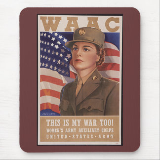 Women's Army Air Corp Mouse Pad