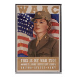 Women's Army Air Corp Posters