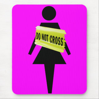 Women's attitude just for women mouse pad