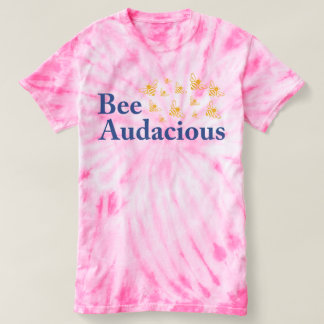 Women's Audacious Tie-Dye Tee - for the Bees!