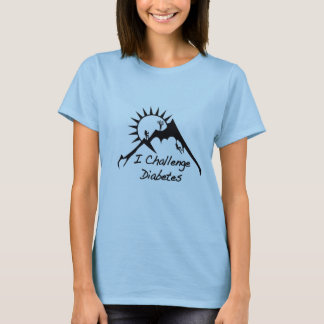 Women's Baby Doll Mountian/ICD T-Shirt
