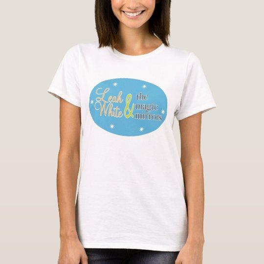 Women's Baby Doll T- Blue Logo T-Shirt