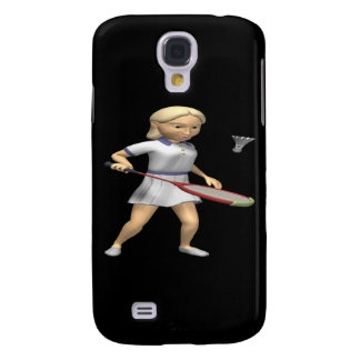 Womens Badminton Samsung Galaxy S4 Cover