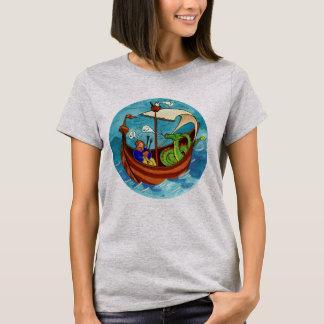 Women's Bagpipe Boat Band light T-shirt