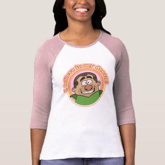 Women's Baseball Tee: I BELIEVE IN MY DREAM! T-Shirt