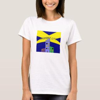 Womens 'Basement City' T-Shirt