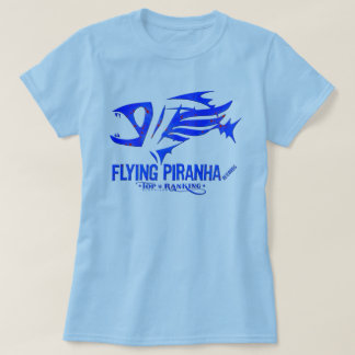 Women's Basic Flying Piranha T-Shirt