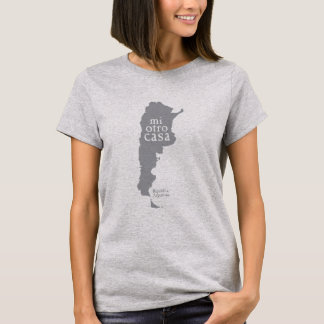 Women's Basic Grey T-Shirt ARGENTINA
