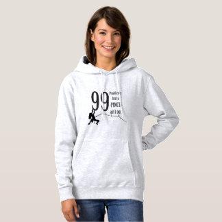 Womens Basic Hooded Sweatshirt