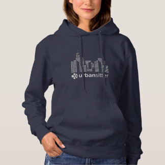 Women's Basic Hooded Sweatshirt - Front Graphic