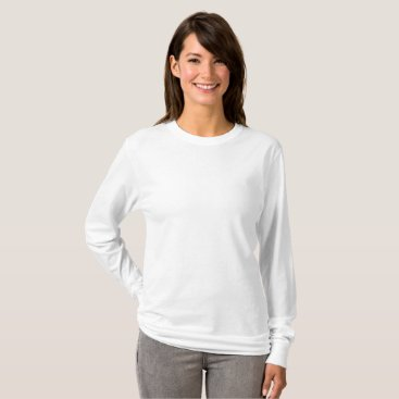 Beach Themed Women's Basic Long Sleeve T-Shirt