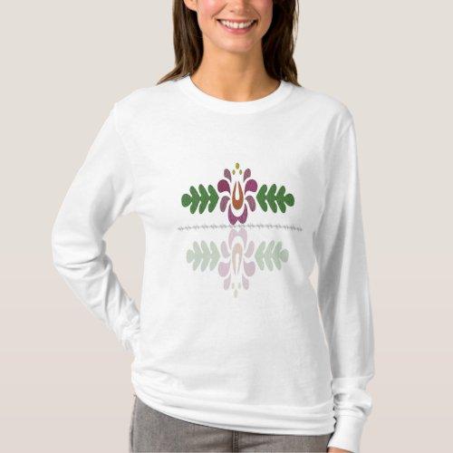 Womens Basic Long Sleeve T_Shirt