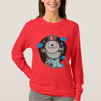 Women's Basic Long Sleeve T-Shirt with super seal