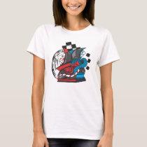 Women's Basic T-Shirt chess artwork