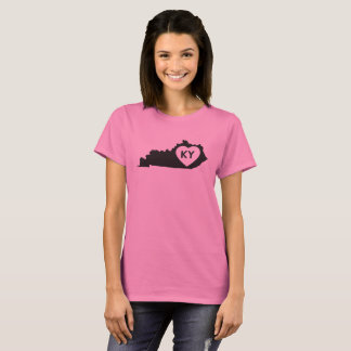 Women's Basic T-Shirt I Love Kentucky State