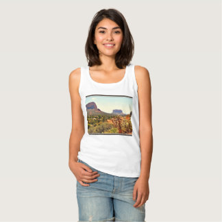 Women's Basic Tank Top - Sedona Landscape